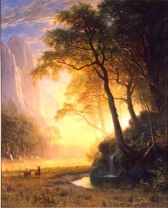 Bierstadt. Not New York state, but still. You get it.