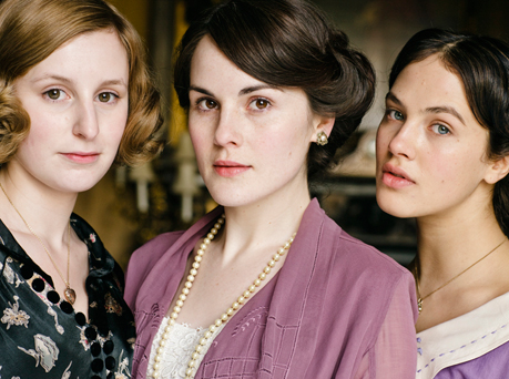 downton abbey picture three sisters