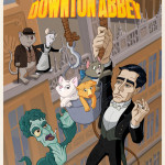Fan Art Thursday 1/24/13 The Rescuers Downton Abbey by Andrew J. Hunter