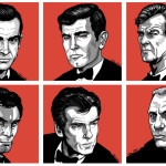 "Fan Art Thursday 1/10/13  ""James Bond Will Return"" by Ross Burt"