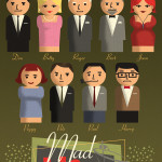 Fan Art Thursday 3/28/13 Mad Men Play-Set by Paul Sizer