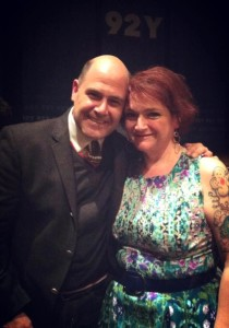 Matt Weiner giving Roberta some pre-birthday love