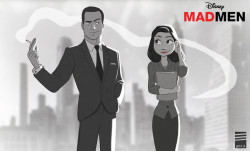 Fan Art Thursday 5/2/13  'Paper Mad Men' by Eadgery
