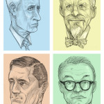 Fan Art Thursday 8/8/13 --  Sterling, Cooper, Draper, Pryce