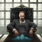 Fan Art Thursday - Hail To the King (Breaking Bad) by Sam Peterson