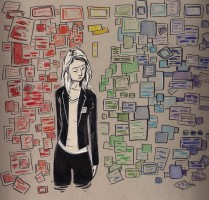 "Fan Art Thursday  - ""Carrie Mathison"" by indigocean"