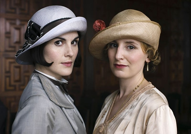 Downton Abbey, Season 5, Episode 8, Lady Mary and Lady Edith