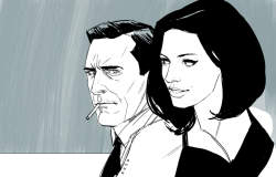 Fan Art Thursday: Mr. & Mrs. Draper