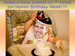 It's Jon Hamm's Birthday!!!!!!