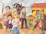 Fan Art Thursday: The Walking Dead by Gigei